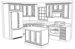 12 X 12 Kitchen Design Layout