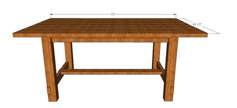 kitchen table bench plans free farmhouse kitchen table plans free kitchentoday