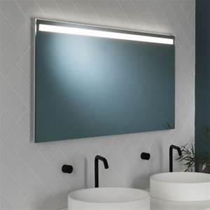 Miroir Étagère Salle De Bain : miroir lumineux salle de bain avlon 1200 led ip44 sabl ~ Melissatoandfro.com Idées de Décoration