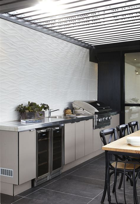 Outdoor Kitchen Cupboards by Laminex Alfresco Compact Laminate In Was Used For