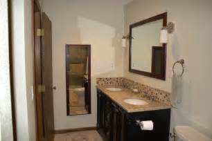bathroom vanity backsplash ideas 25 wonderful large glass bathroom tiles