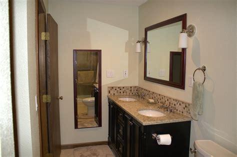 backsplash bathroom ideas 23 ideas of glass tile trim bathroom