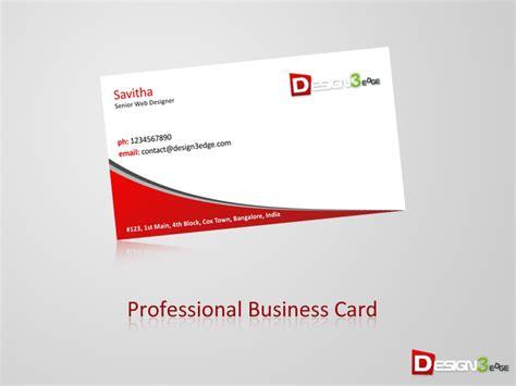professional business card designedgecom