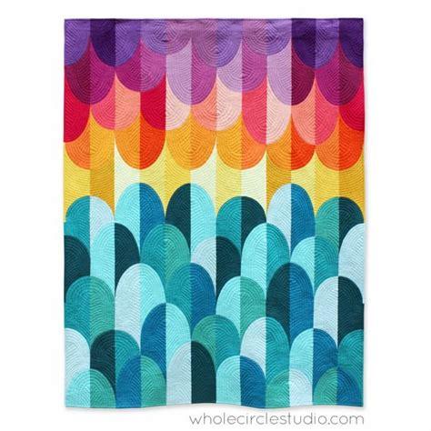 Artisan Findlay Wolfe by Big Island Sunset Quilt Pattern Whole Circle Studio