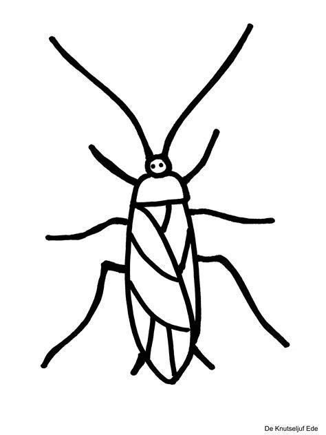 Kriebelbeestjes Kleurplaat by Kleurplaten Kriebelbeestjes Gratis Kleurplaat Insecten