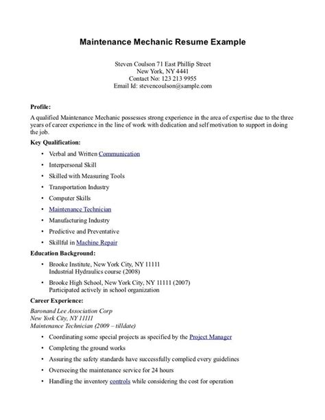 high school student resume exles high school