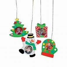 Holiday Picture Frame Ornament Craft Kit  Oriental Trading