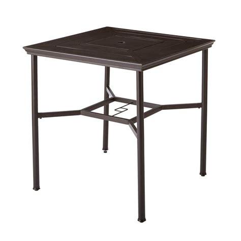rectangular patio dining table hton bay tobago rectangular extendable patio dining