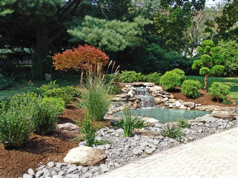 asian landscaping ideas japanese garden landscape design with waterfall and pond by lee s oriental landscape art