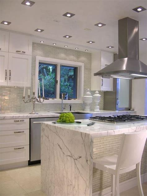 White Carrera Marble Kitchen Love The Marble And The