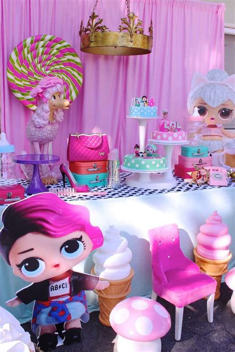 lol surprise doll birthday party ideas photo