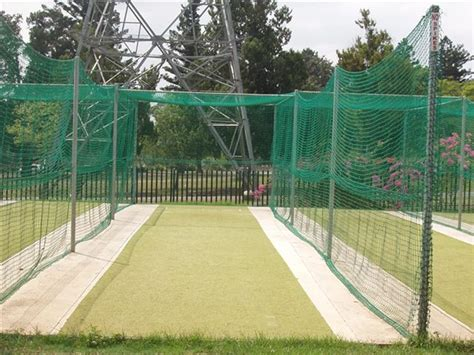 cricket nets  pitch covers rugby post cushions
