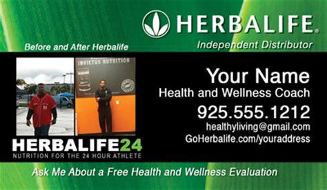 herbalife health coach business cards  herbalife