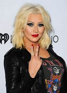 Christina Aguilera – Arrives for NBCs The Voice Season 8 ...