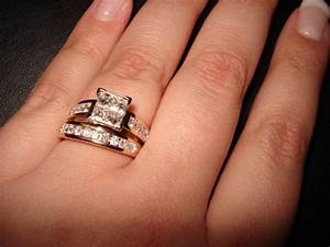 wedding bands engagement rings With which wedding ring goes on first