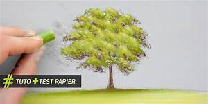 Peindre Au Pastel : peindre un arbre au pastel sec tutoriel et test papier apprendre dessiner avec dessin cr ation ~ Melissatoandfro.com Idées de Décoration