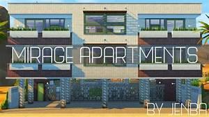 Jenba Sims: Mirage apartments • Sims 4 Downloads
