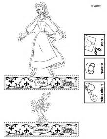 Beauty and Beast Coloring Page Printable