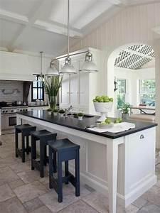La cuisine avec ilot central idees de decoration et design for Idee deco cuisine avec design cuisine