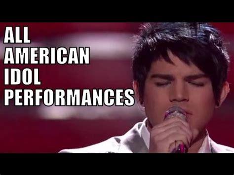 adam lambert american idol songs best american idol performance ever doovi