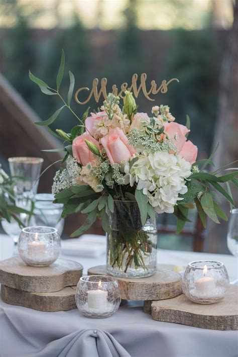 100 country rustic wedding centerpiece ideas page 18