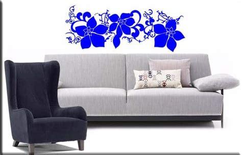 wall stickers fiori adesivi murali fiori arredo decorazioni da parete