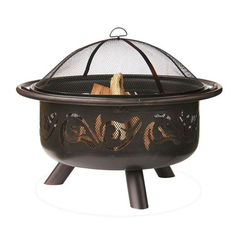 home depot pit endless summer 36 in pit with swirl design wad900sp