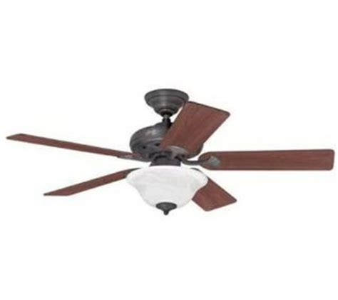 hunter eastern shore ceiling fan shop hunter 52 northshore rustic bronze ceiling fan at
