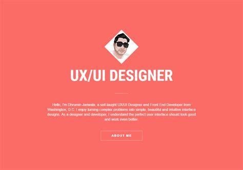 ux design portfolio ui ux front end designer portfolio css winner
