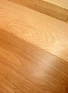 Owens flooring 3 inch hickory 1 common and better grade for Are prefinished hardwood floors better