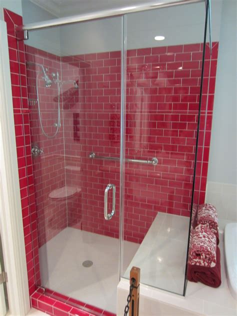 Subway Tile Bathroom Colors by Barenzbuilders Subway Tile Shower Luxurious