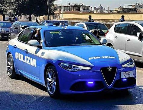 alfa mobili alfa romeo giulia polizia auto italiane auto della