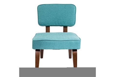 nunzio mid century modern accent chair in teal by lumisource