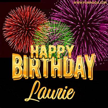 Laurie Birthday Happy Gifs Animated Cards Funimada