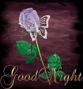 Purple Rose with Bling Butterfly