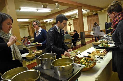 cuisine st paul at st paul church 39 s lunch food faith are on the menu