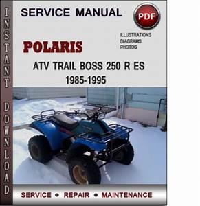 Polaris Atv Trail Boss 250 R Es 1985