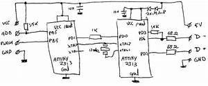 Ps2 To Usb Converter Circuit Diagram