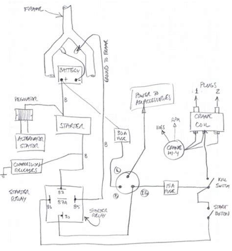 Mini Chopper Wiring Diagram For Ignition Switch by Kill Switch Wiring Club Chopper Forums