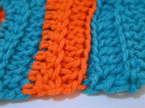 crochet  chevron scarf  pictures wikihow