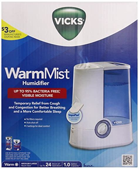 vicks warm mist humidifier buy   uae hpc products   uae  prices reviews