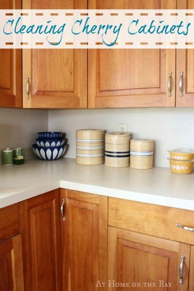 Cleaning Wood Cupboards by Cleaning Cherry Cabinets Diy Ideas Cleaning Wood