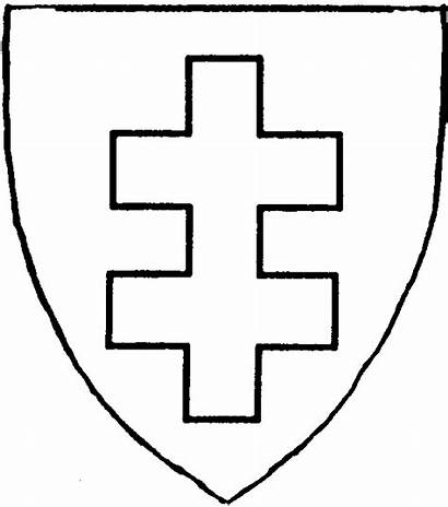 Cross Maltese Crossed Double Latin Potent Bottony