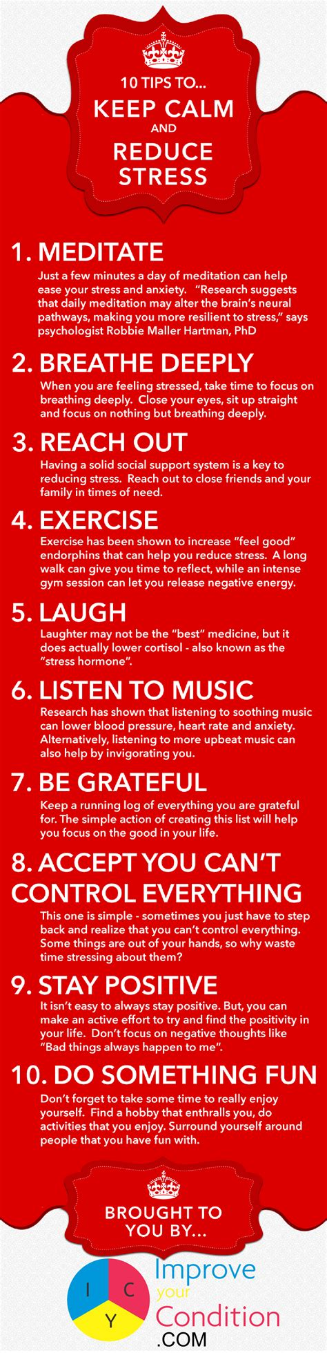 10 Stress Relief Tips For Caregivers [infographic] Dailycaring