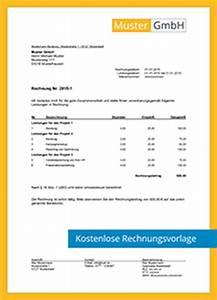 Kleinunternehmer Rechnung Vorlage : kostenlose rechnungsvorlagen scopevisio ag ~ Themetempest.com Abrechnung