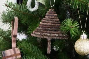twig tree ornament easy diy