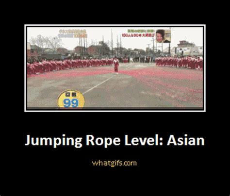 Level Meme - jump rope level asian level asian know your meme