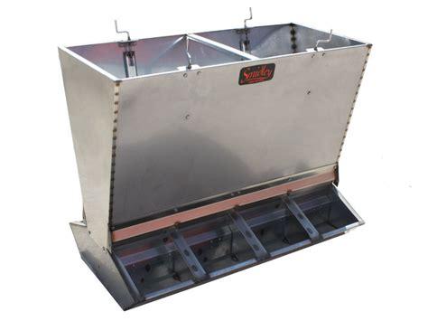 hog feeders for smidley mfg inc products stainless steel hog feeders