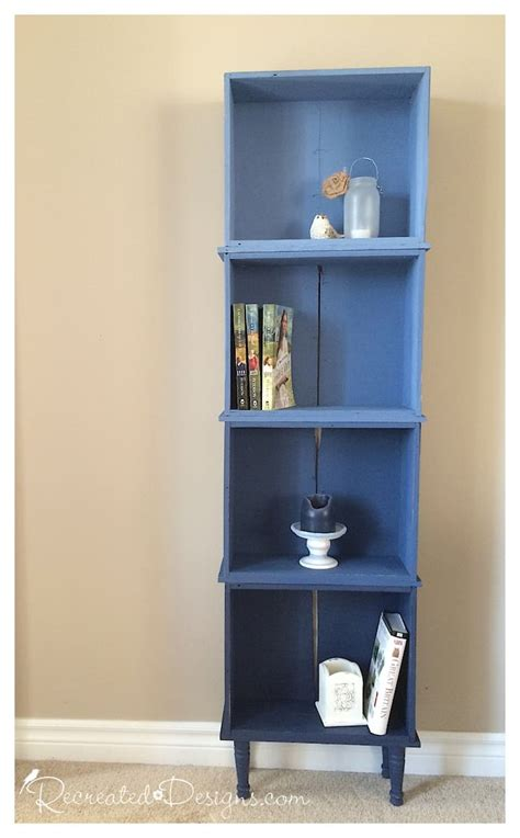 Dresser Bookcase by Building A Shelf Out Of Drawers Recreated Designs