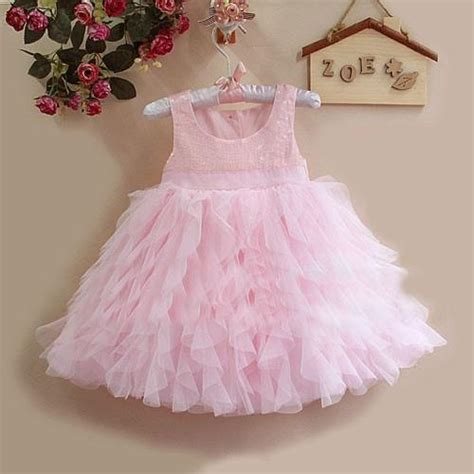 2018 2013 fashion baby summer tutu in pink ruffle cupcake ballet lace sequin